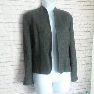 [VINTAGE] IRA JOYCE grey wool jacket